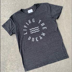 Sol Angeles men's medium living the dream shirt